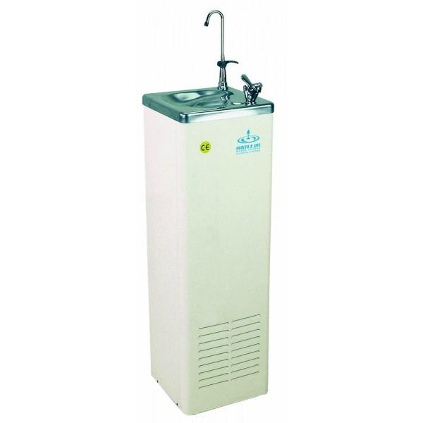 Ψύκτης Νερού Επιδαπέδιος H&L IC30 INOX 330 WH